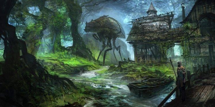 Gravity Falls Landscapes Wallpaper The Elder Scrolls Iii Morrowind Drawing Artwork