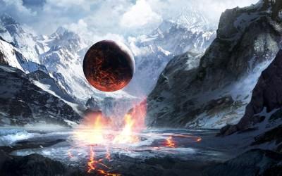 planet, Artwork, Fantasy Art Wallpapers HD / Desktop and Mobile Backgrounds