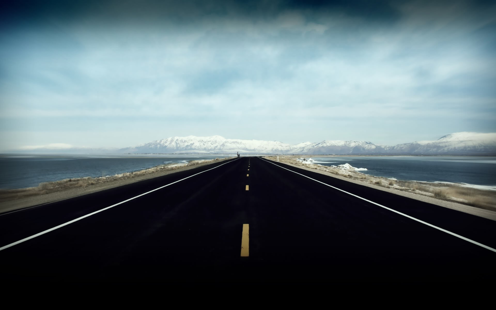 3840x1080 Wallpaper Car Nature Road Landscape Photography Water Wallpapers Hd