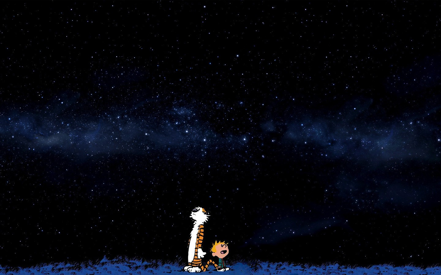Rick And Morty Wallpaper Iphone Space Stars Blue Comics Calvin And Hobbes Wallpapers