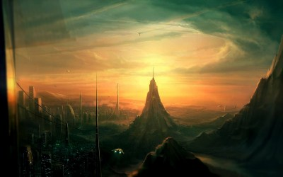 artwork, Digital Art, Fantasy Art, City, Futuristic, Science Fiction Wallpapers HD / Desktop and ...