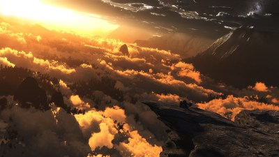 digital Art, Clouds, Sunlight Wallpapers HD / Desktop and Mobile Backgrounds