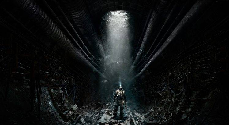 Metro 2033 Wallpaper Hd Video Games Underground Metro Last Light Wallpapers Hd
