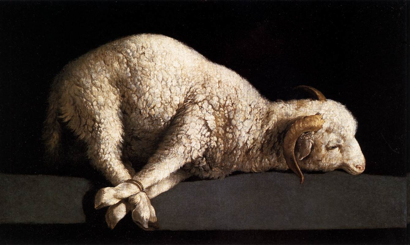 Jesus Wallpaper Hd 3d Artwork Painting Sheep Tied Down Animals Wallpapers Hd