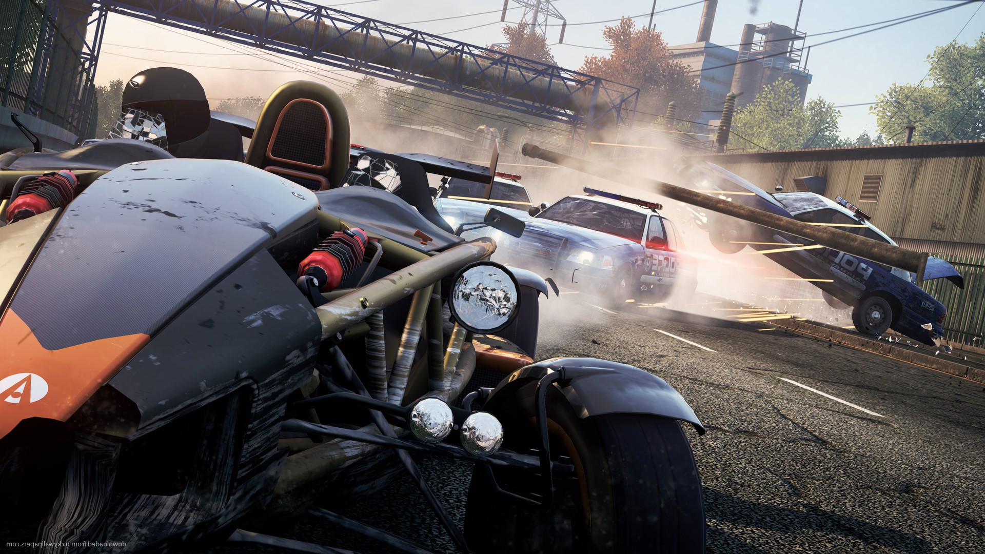 Nfs Movie Cars Wallpaper Ariel Atom V8 Need For Speed Most Wanted 2012 Video