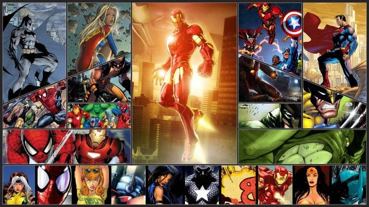 Justice League Movie Hd Wallpapers Wolverine Spider Man Captain America Thor Iron Man