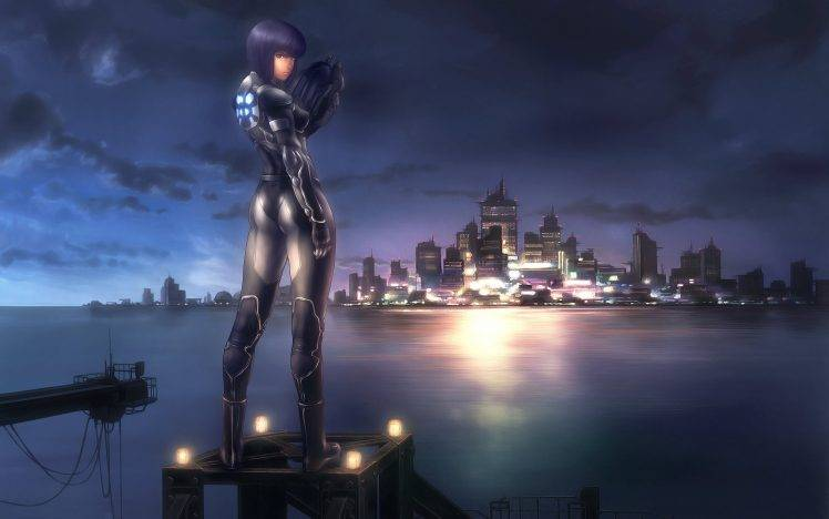 Alone Girl Wallpapers New Anime Ghost In The Shell Wallpapers Hd Desktop And