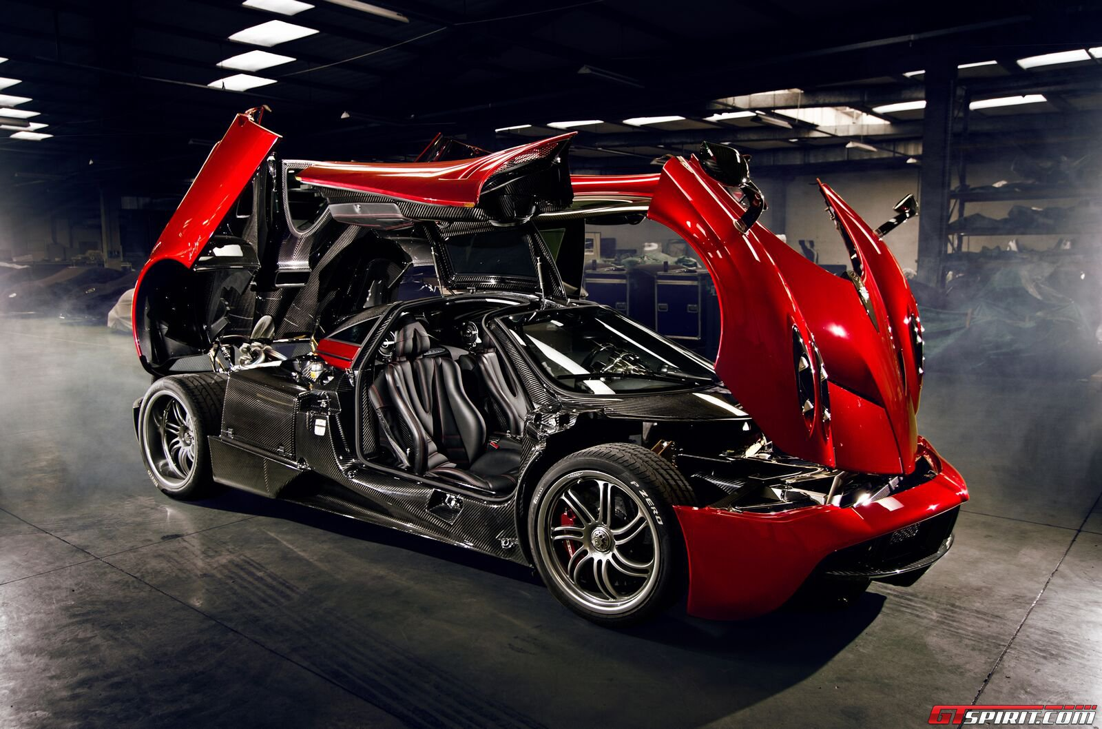 Car 5760x1080 Wallpaper Car Pagani Pagani Huayra Mid Engine Hypercar Italian
