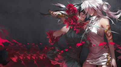 women, Sword, Carciphona, Sexy Anime Wallpapers HD / Desktop and Mobile Backgrounds
