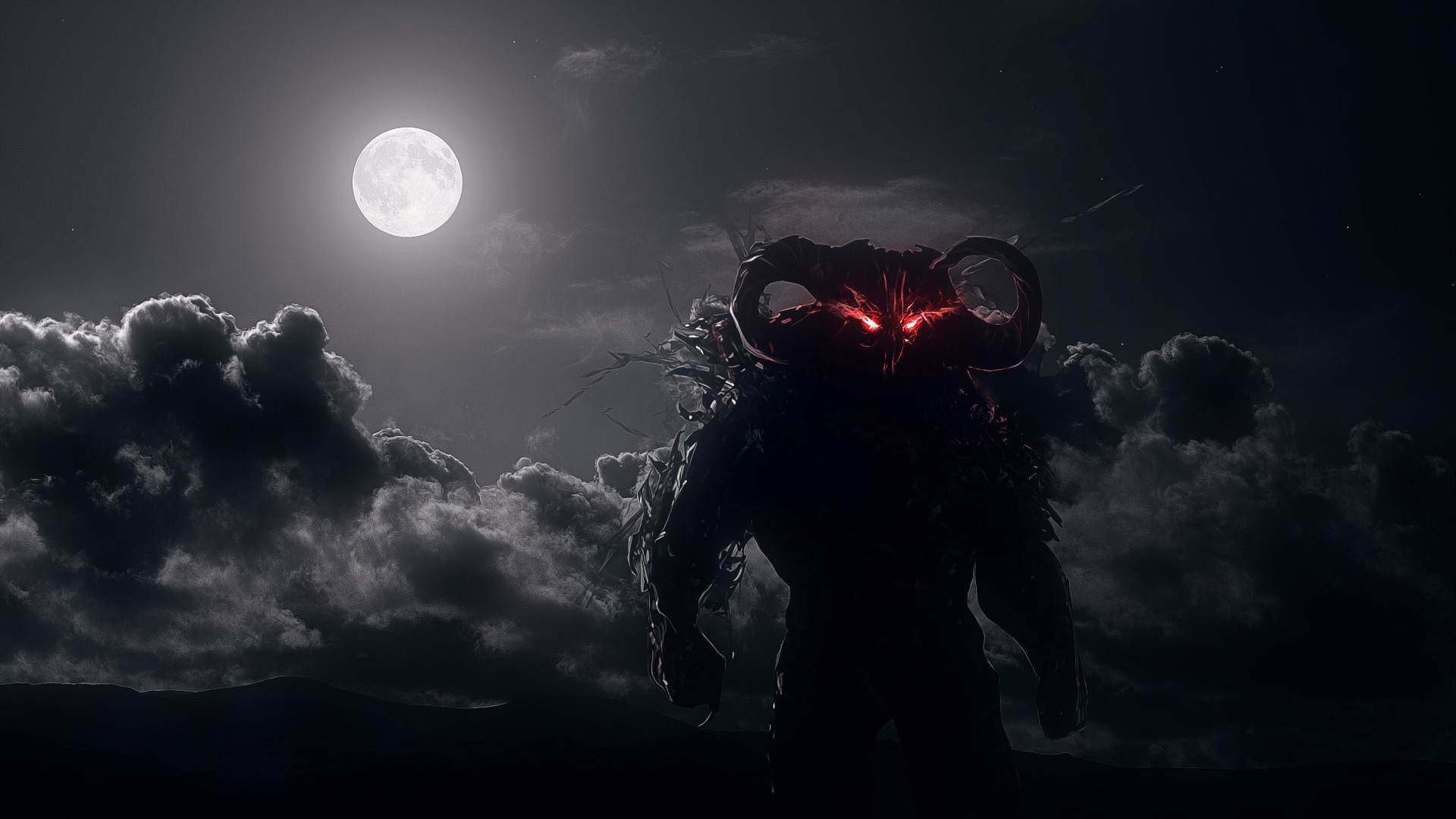Wampire Moon Wallpaper Desktop 3d Dark Red Moon Dahaka Prince Of Persia Warrior Within