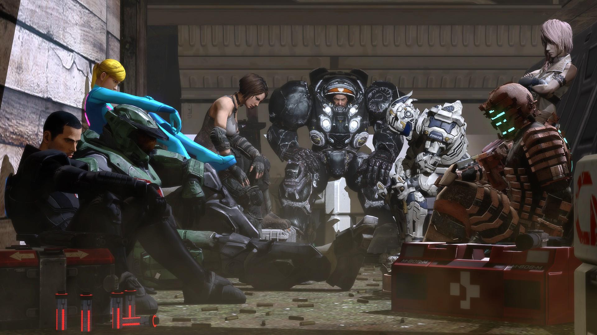 Starcraft Wallpaper Hd Video Games Fan Art Dead Space Halo Master Chief