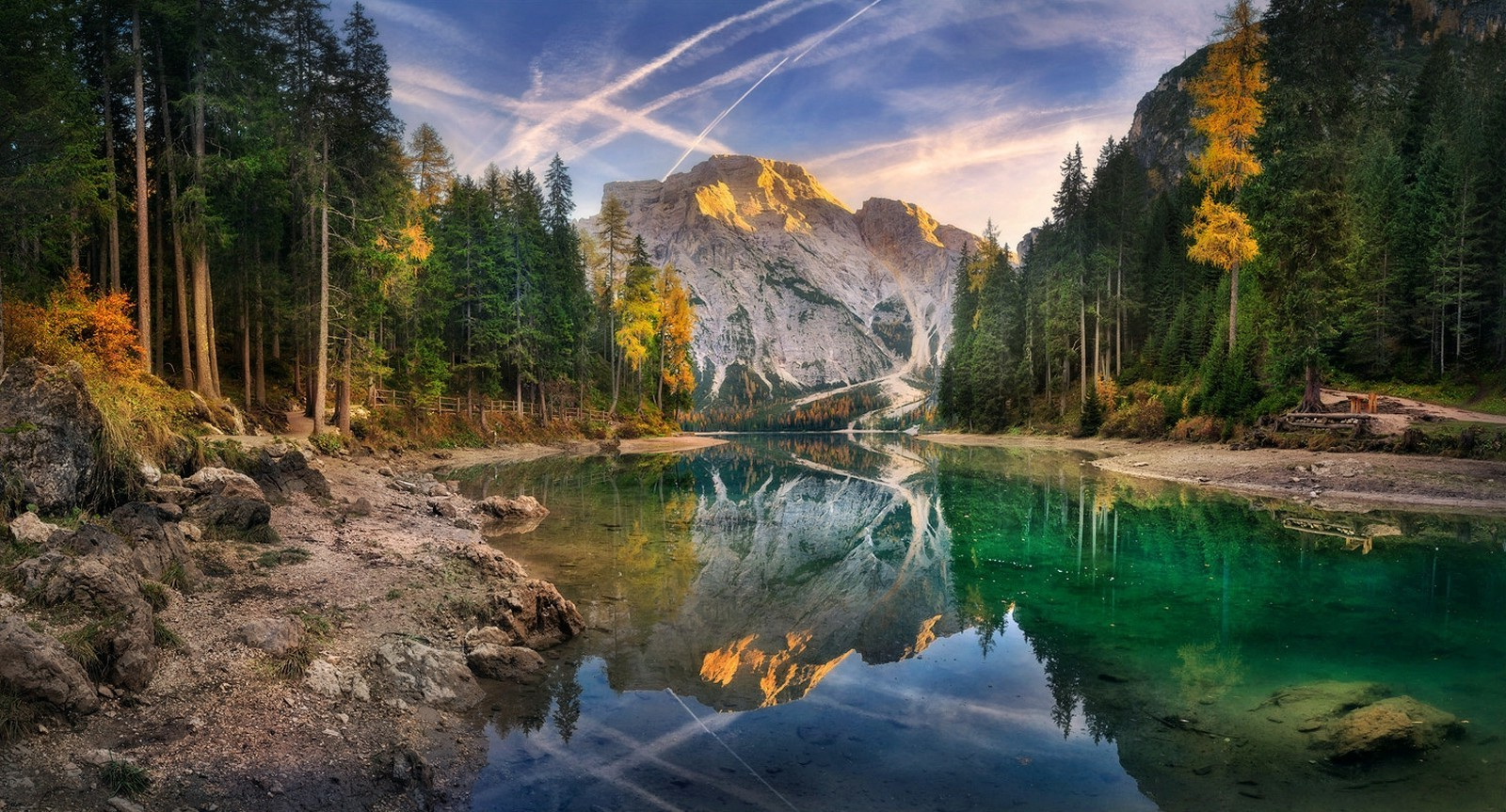 Animal Wild Wallpaper Hd 3d Lake Sunset Italy Summer Forest Mountain Water