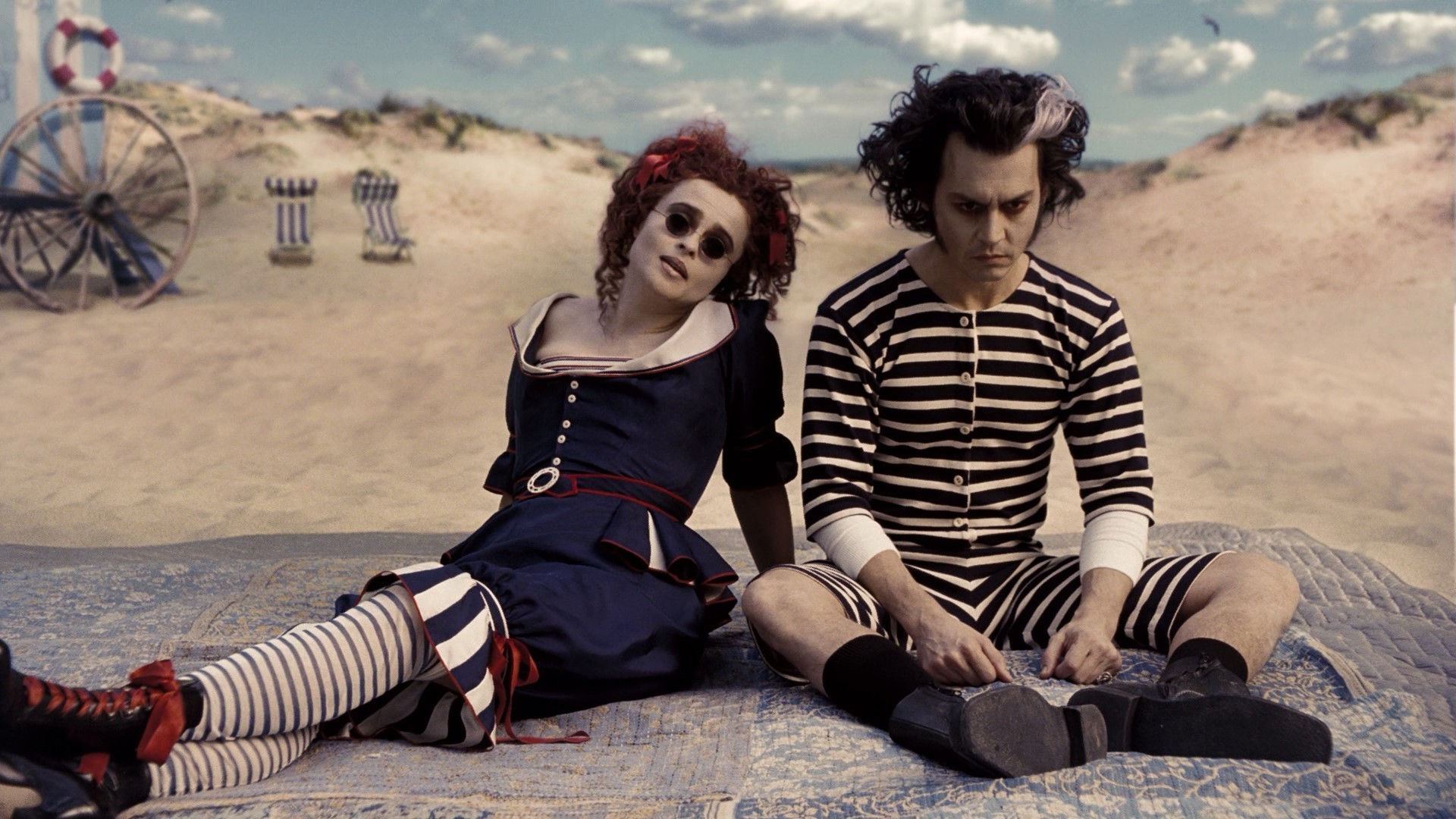 Goth Anime Girls Wallpapers Sweeney Todd Johnny Depp Helena Bonham Carter Wallpapers