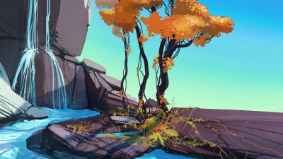 artwork, Nature, Water, Digital Art, Concept Art Wallpapers HD / Desktop and Mobile Backgrounds