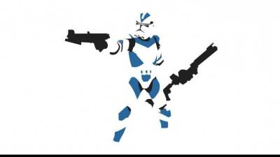 Star Wars, Clone Trooper, Minimalism Wallpapers HD / Desktop and Mobile Backgrounds