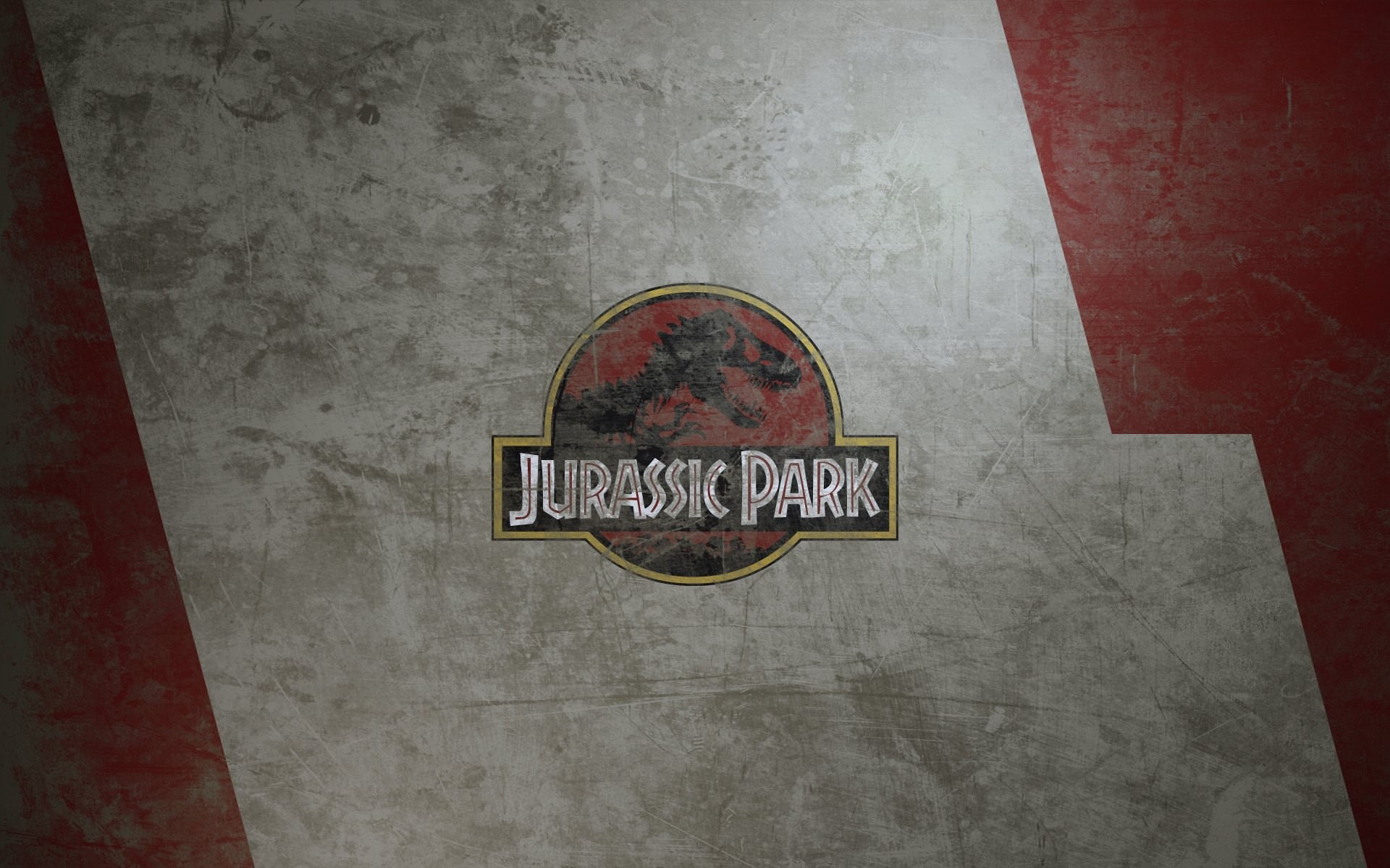 Jurassic Park 3d Wallpaper Hd Jurassic Park Digital Art Texture Metal Movies