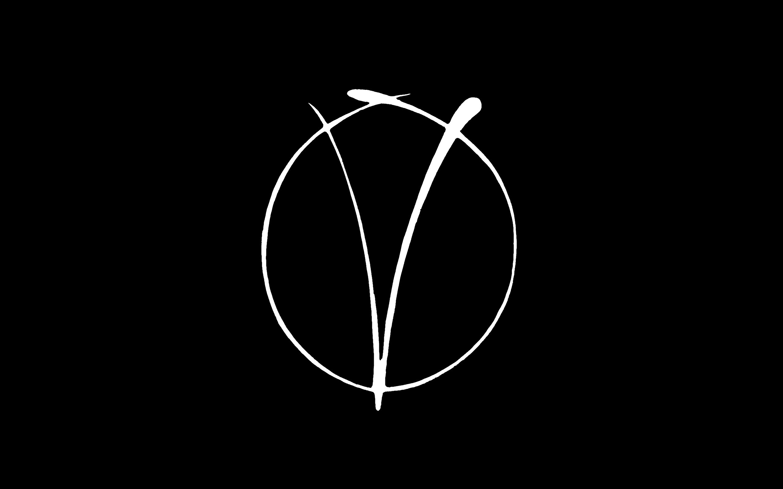 Iphone 5 Hd Wallpapers Cars V For Vendetta Minimalism Black White Logo Movies