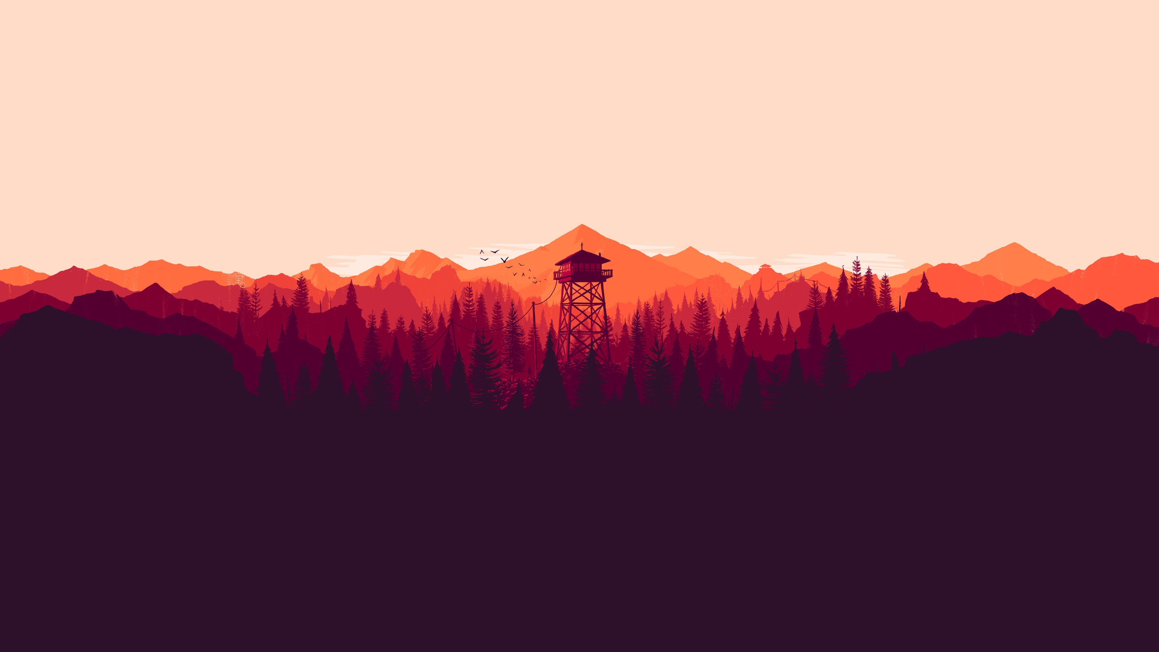 Moving Wallpapers For Girls Artwork Landscape Firewatch Video Games Wallpapers Hd