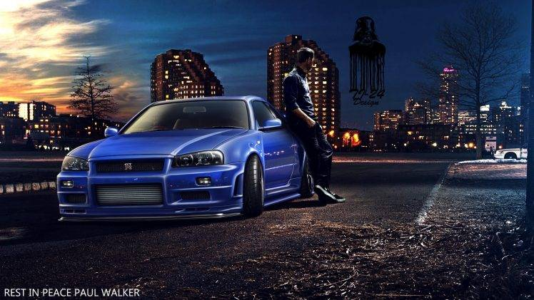 Fast And Furious 8 Cars Wallpaper Hd Paul Walker Fast And Furious Furious 7 Nissan Skyline