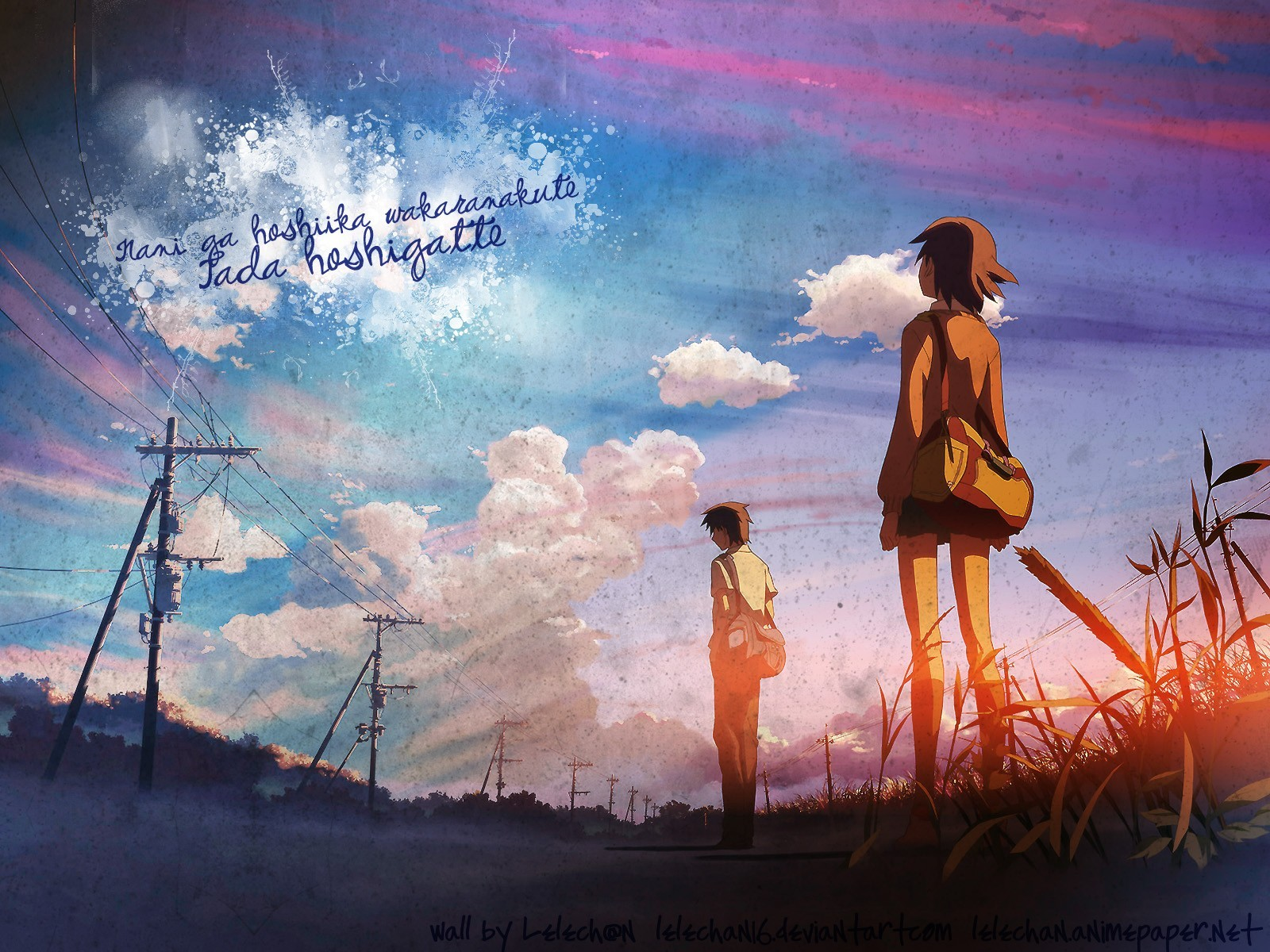 3840x1080 Hd Wallpapers Sad Quote 5 Centimeters Per Second Wallpapers Hd Desktop And