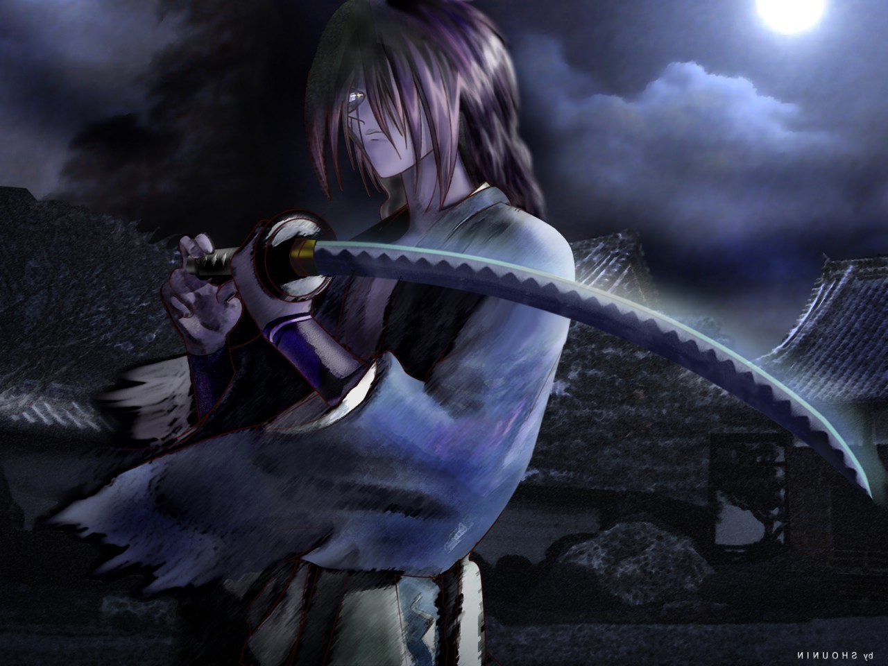 Fantasy Girl Wallpaper Full Hd Anime Rurouni Kenshin Sword Himura Kenshin Wallpapers