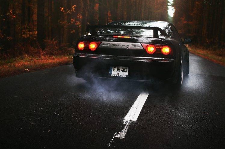 Drift Car Wallpaper Mobile Jdm Nissan 180sx Car Burnout Wallpapers Hd Desktop