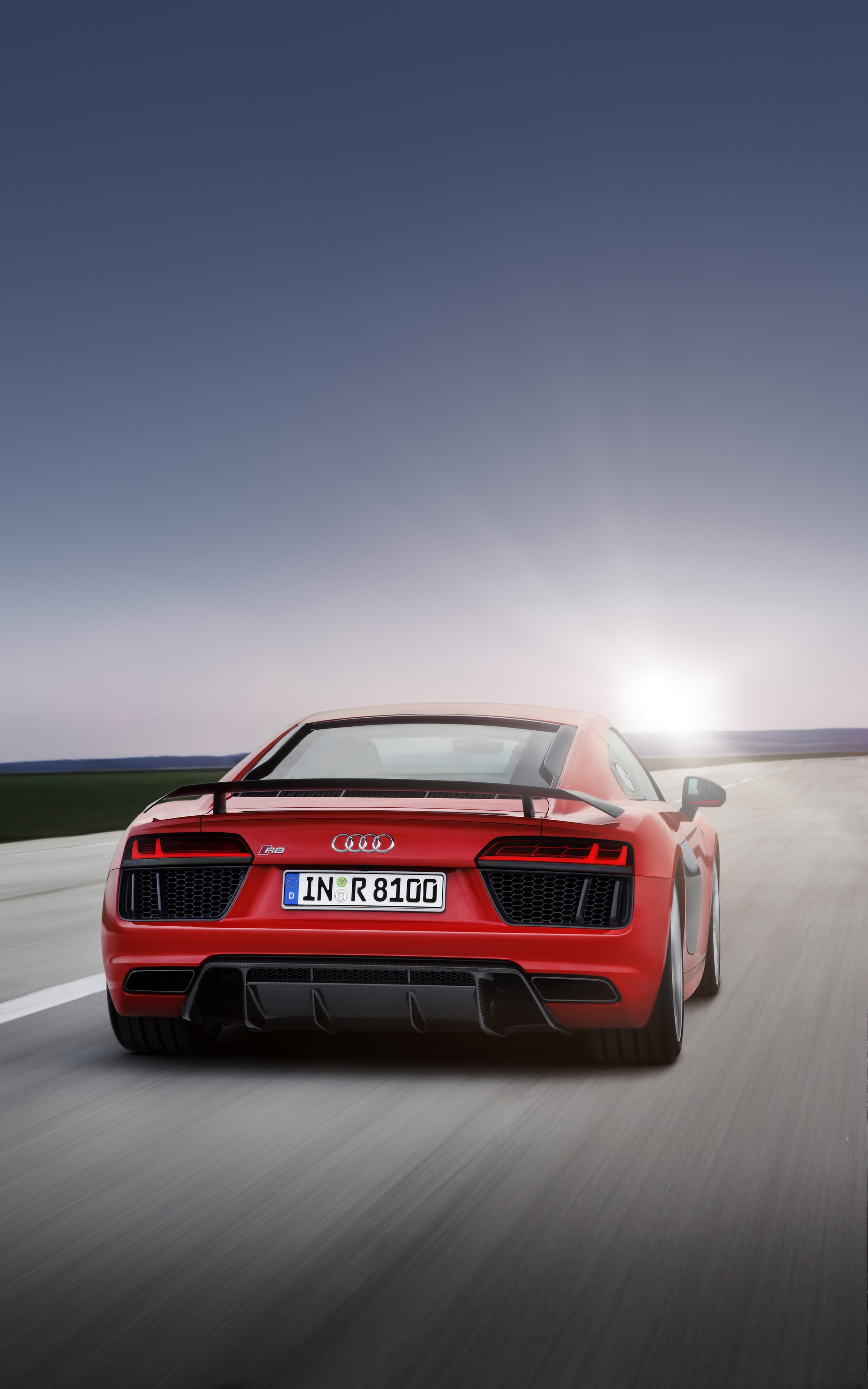 Super Car 5760x1080 Wallpaper Audi R8 Car Vehicle Super Car Portrait Display Red