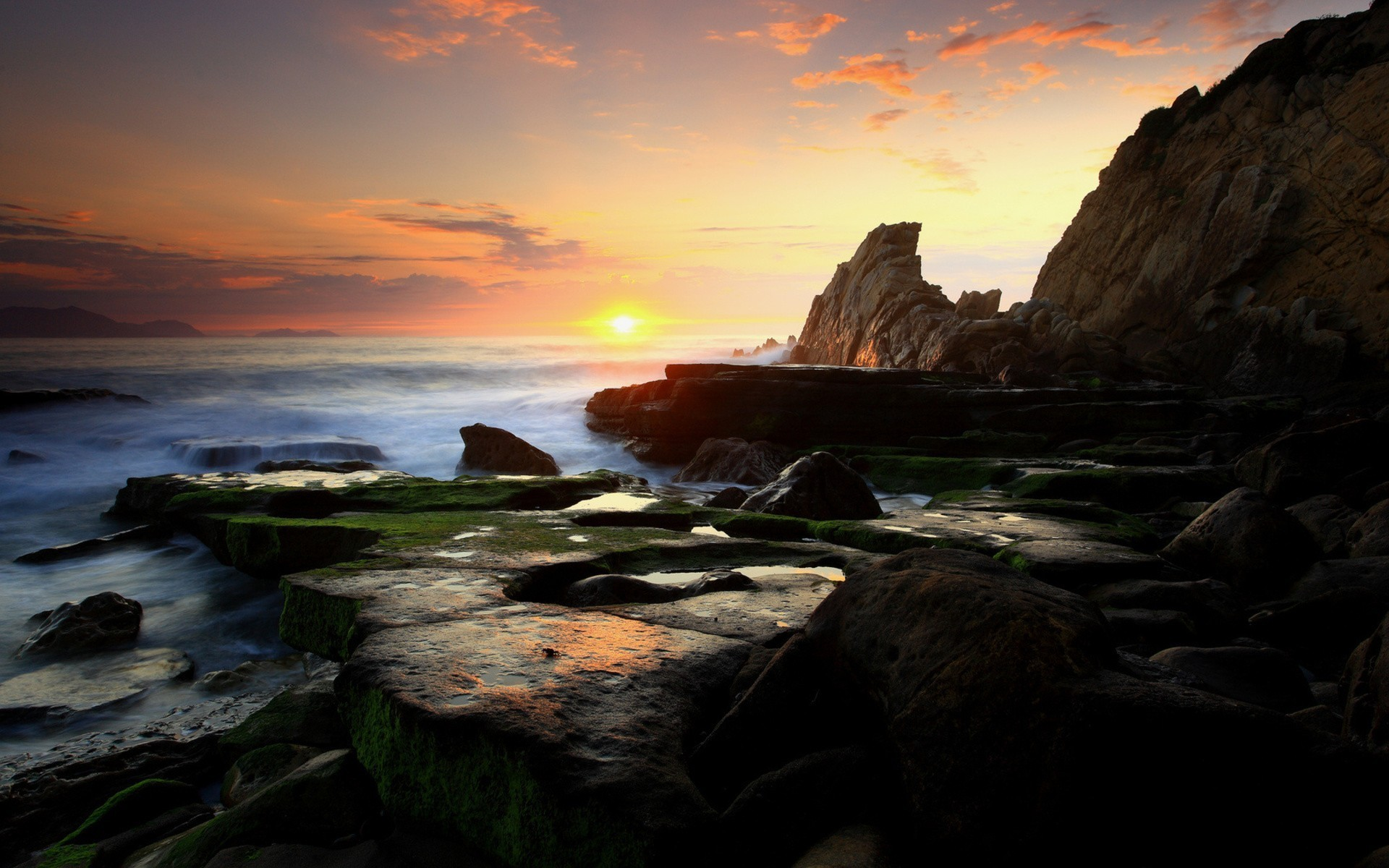 3d Wallpapers For Home Screen Photography Nature Landscape Sea Water Coast Rock