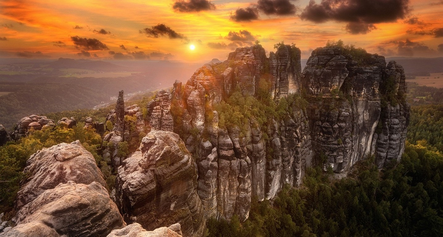 1600x900 Wallpapers Hd Cars Photography Landscape Nature Sunrise Forest Sky Rock