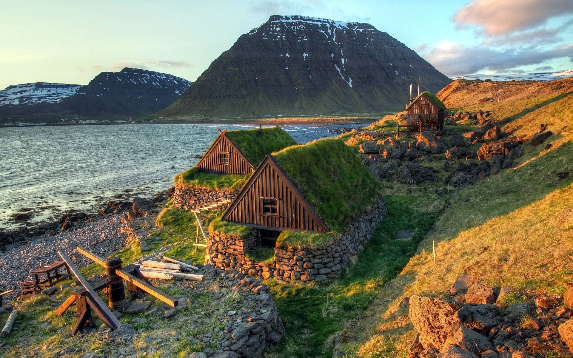 Best 3d Hd Wallpapers For Mobile Nature Landscape Water Sea Iceland House Wood Rock