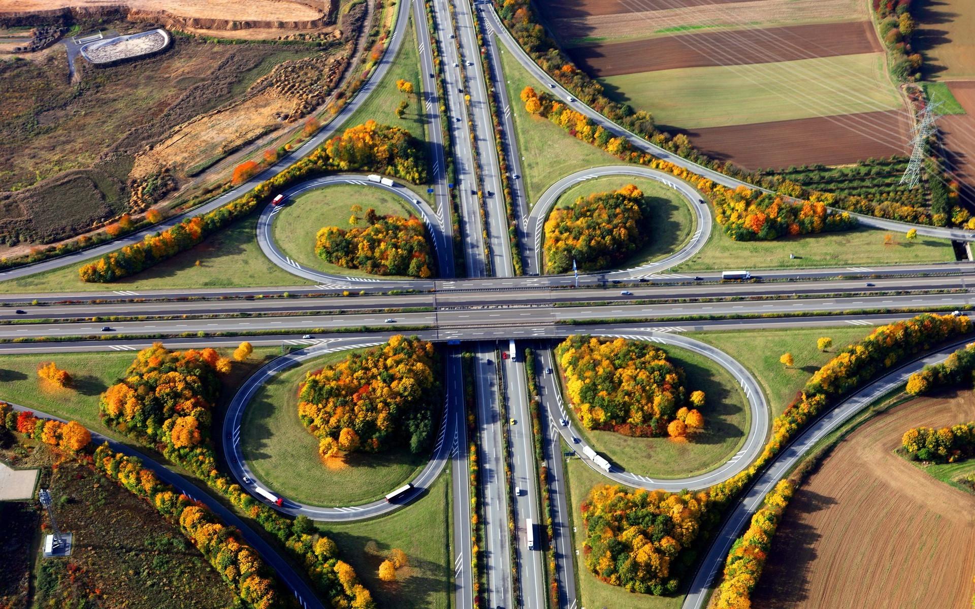 Wallpaper 3840x1080 Car Road Intersections Car Landscape Wallpapers Hd