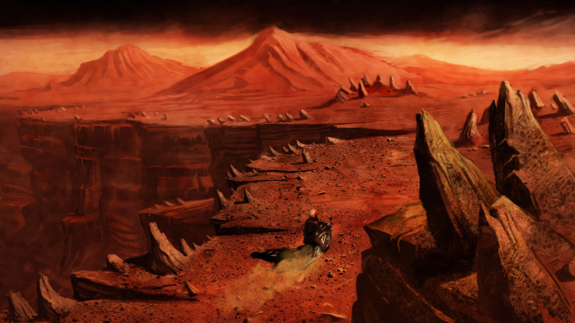 Desktop Wallpaper Hd 3d Full Screen God Mars Fantasy Art Wallpapers Hd Desktop And Mobile
