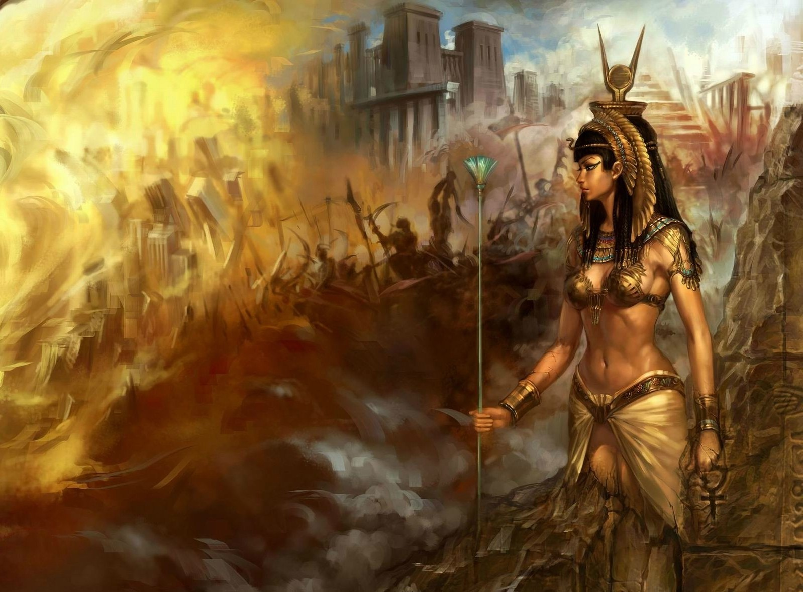 Samsung Mobile Hd Wallpapers Free Download Fantasy Art Artwork Egyptian Wallpapers Hd Desktop And