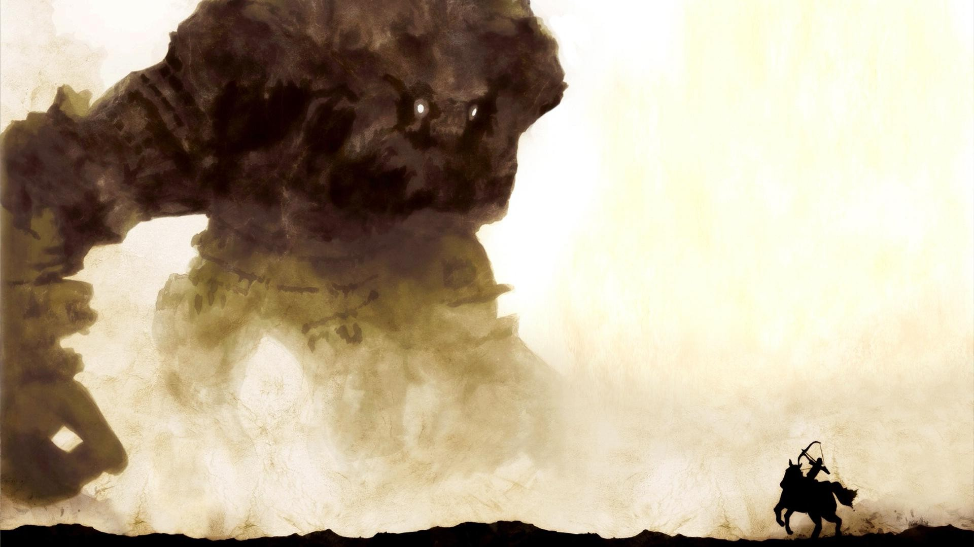 Cosmos Quotes Wallpaper Shadow Of The Colossus Colossal Titan Artwork Fantasy