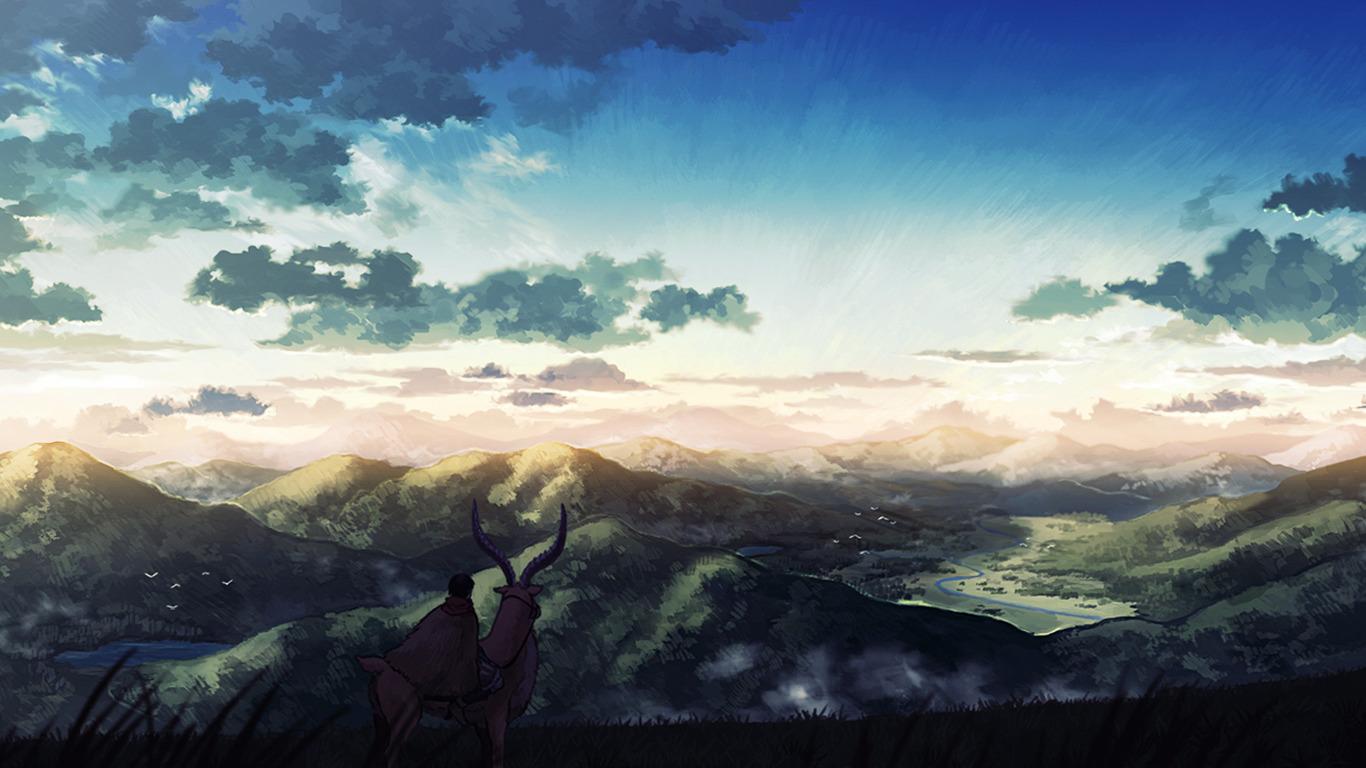 New 3d Hd Wallpapers For Pc Studio Ghibli Princess Mononoke Ashitaka Mononoke