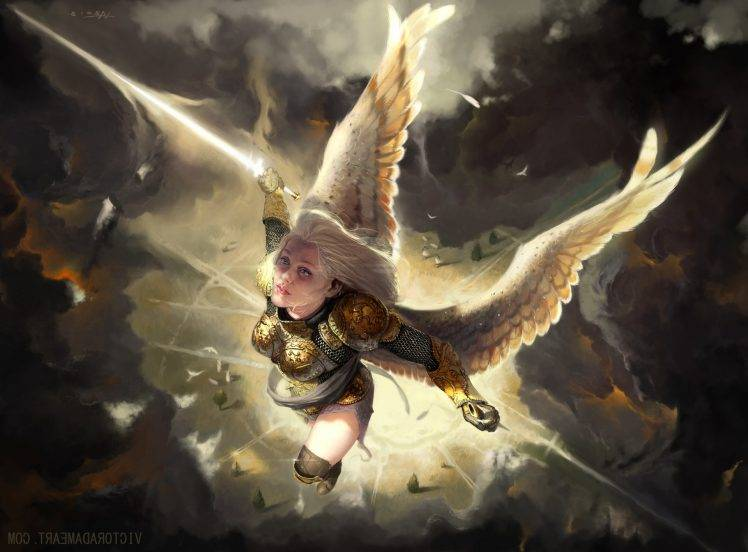 Creature 3d Movie Wallpaper Download Fantasy Art Angel Wallpapers Hd Desktop And Mobile