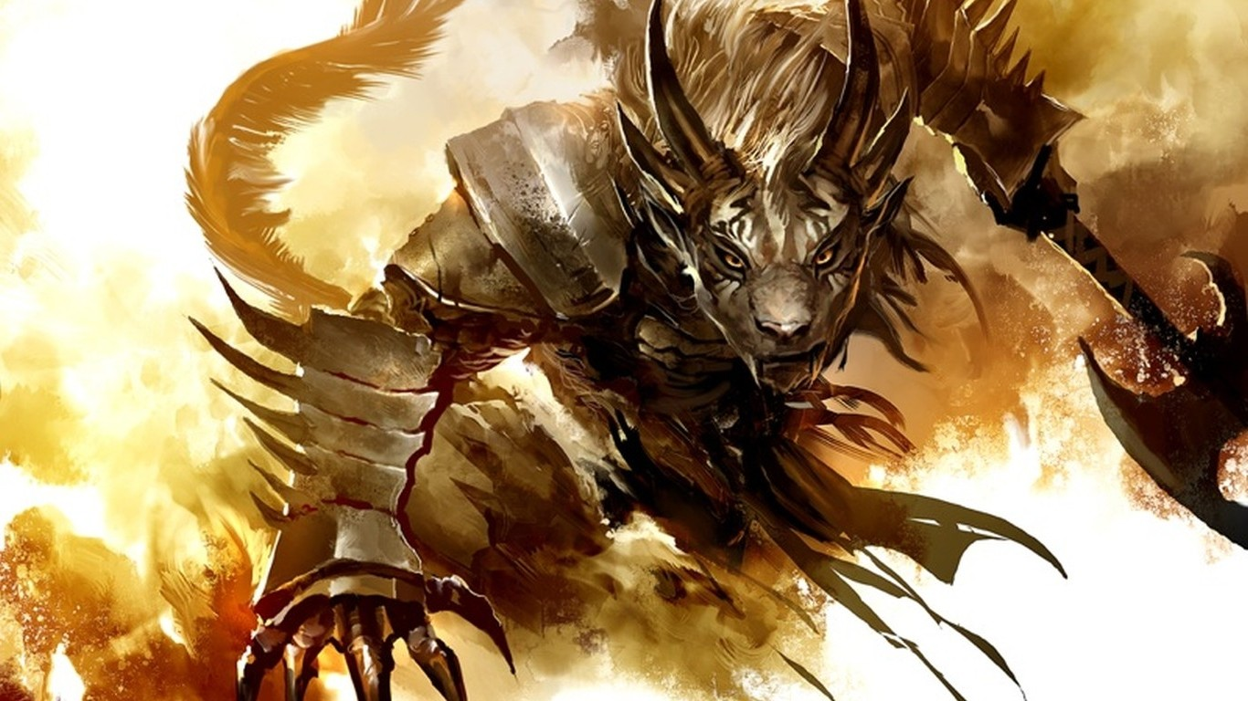 3d Animated Wallpaper For Android Mobile Furry Anthro Guild Wars 2 Wallpapers Hd Desktop And