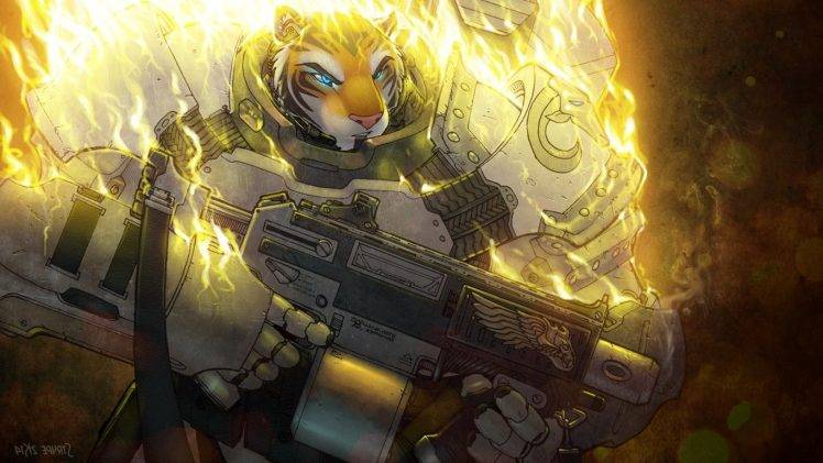 Saber Tooth Tiger 3d Wallpaper Furry Anthro Fantasy Weapons Tiger Wallpapers Hd