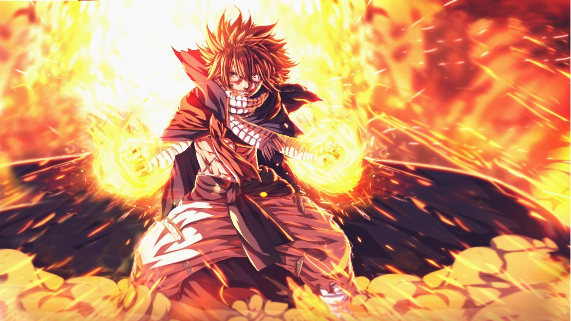 Nature Full Hd 3d Wallpapers 1920x1080 Fairy Tail Dragneel Natsu Wallpapers Hd Desktop And
