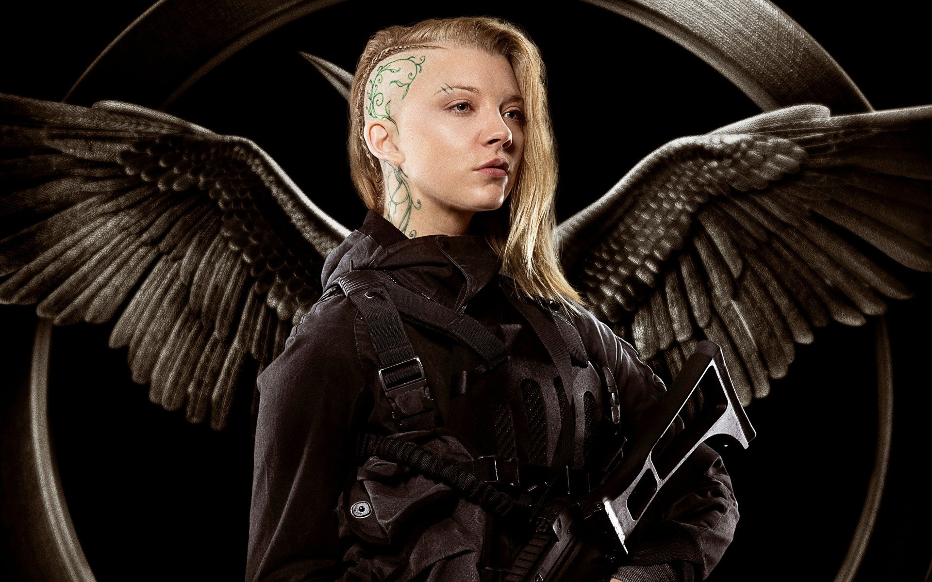 Wallpaper 3d Espada Hunger Games Natalie Dormer Movies Cressida Wallpapers