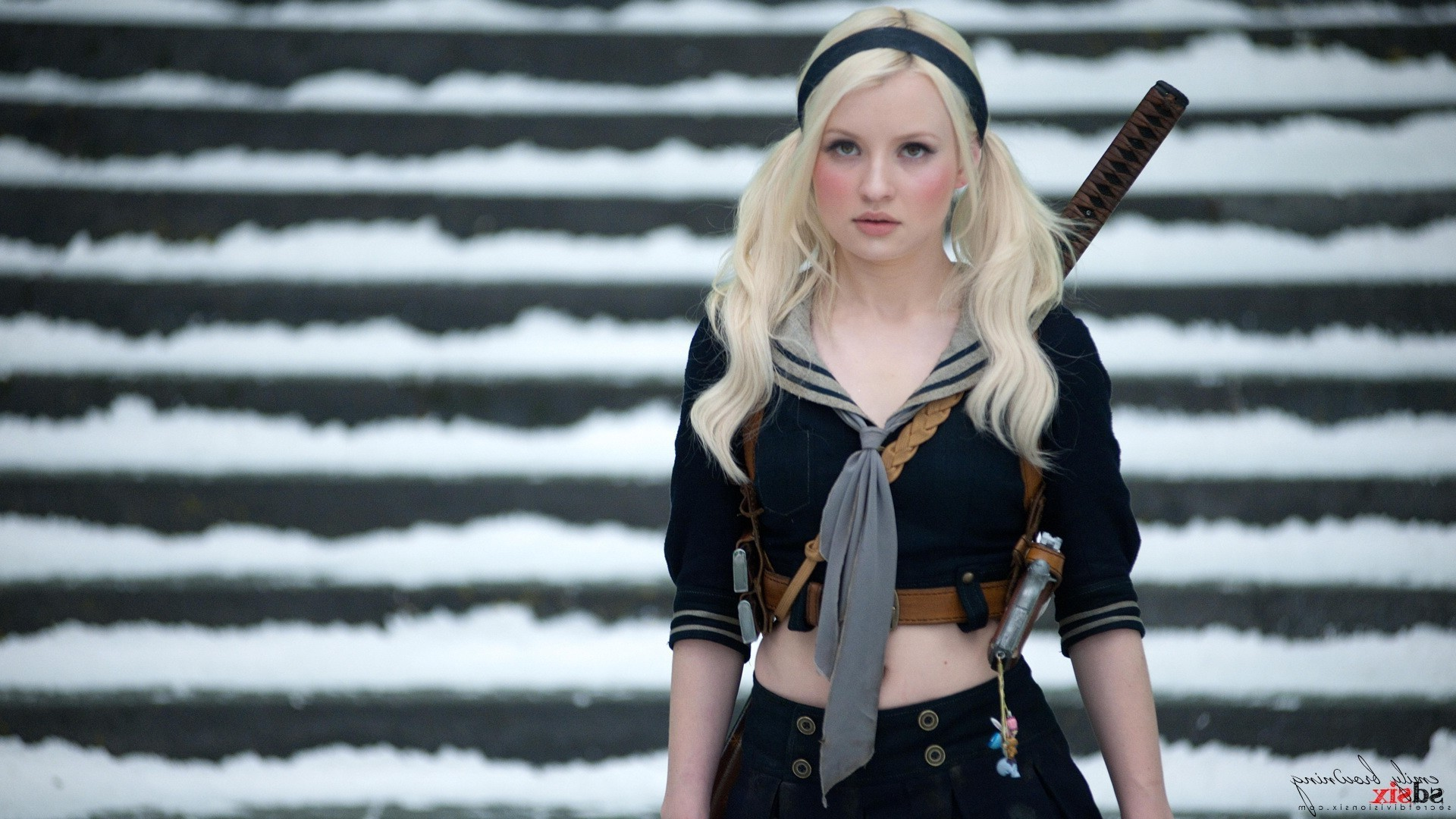 Baby Girl Wallpapers For Mobile Sucker Punch Emily Browning Women Wallpapers Hd