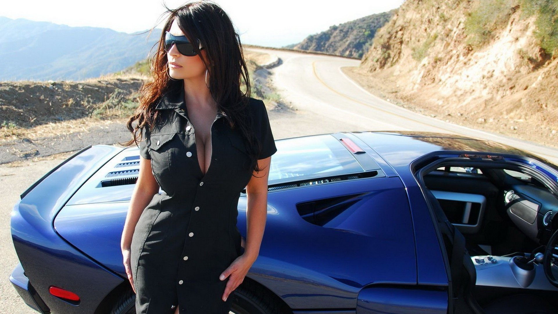 Retro Car Home Wallpaper Denise Milani Wallpapers Hd Desktop And Mobile Backgrounds