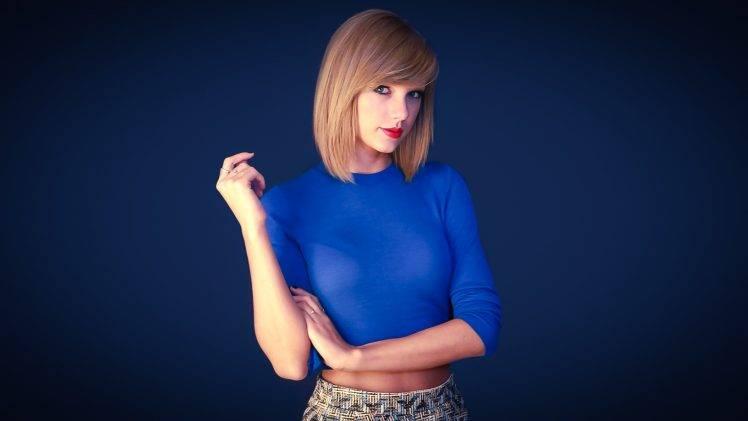 Iphone 5 Wallpaper Gossip Girl Taylor Swift Blue Women Singer Wallpapers Hd Desktop