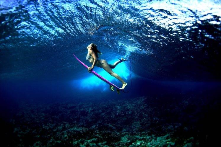 Wallpaper Hd Surfer Girl Women Water Surfers Wallpapers Hd Desktop And Mobile