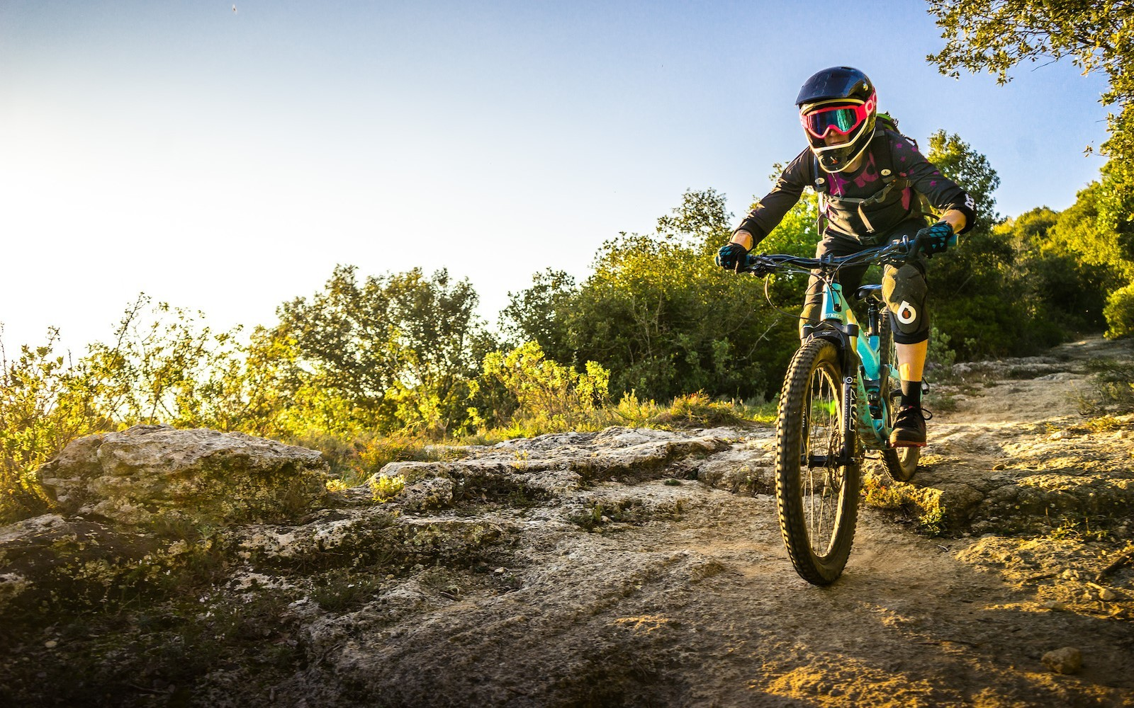 Anime Girl Epic Wallpapers Mountain Bikes Women With Bikes Helmet Bicycle