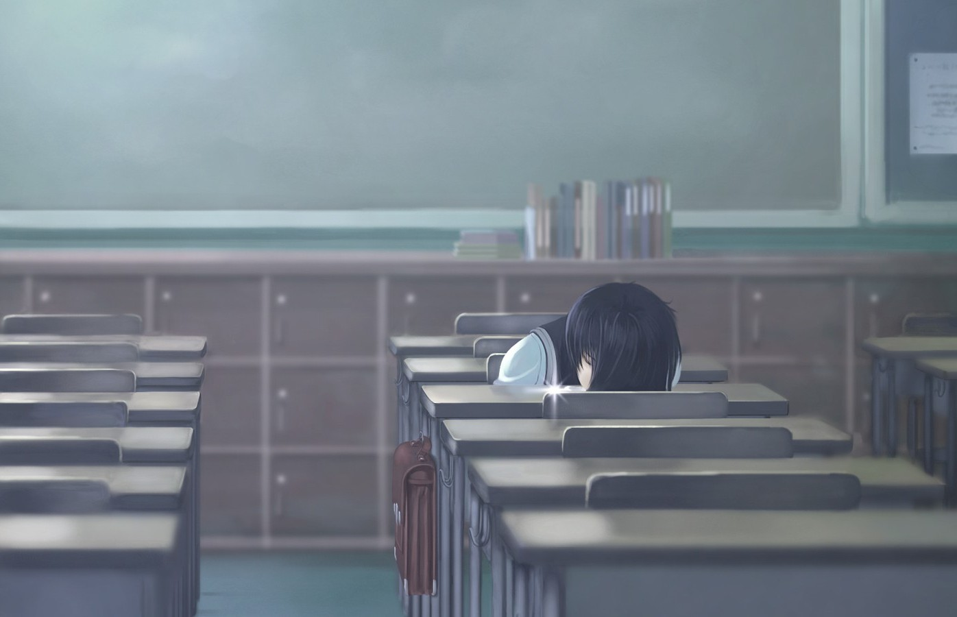 Alone Boy Girl Wallpaper Anime Girls Sleeping Alone Wallpapers Hd Desktop And