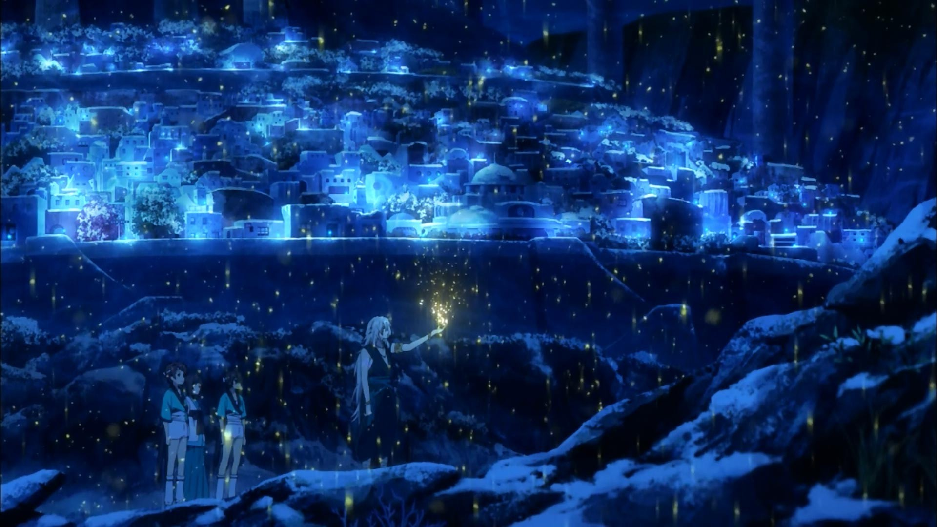 Pc Wallpaper 3d Love Nagi No Asukara Water City Sea Wallpapers Hd Desktop