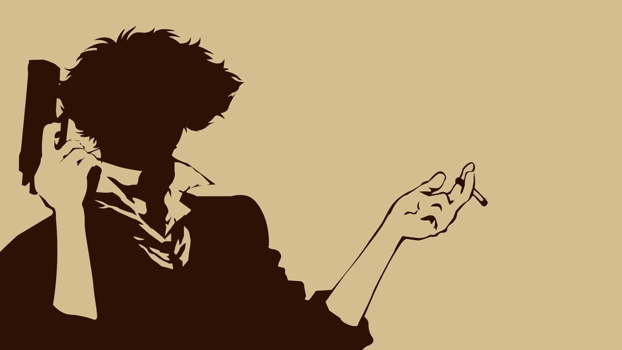 Anime Emo Boy Wallpaper Cowboy Bebop Spike Spiegel Anime Vectors Wallpapers Hd