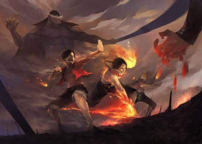 One Piece, Monkey D. Luffy, Portgas D. Ace, Edward Newgate, Marco, Sakazuki Wallpapers HD ...