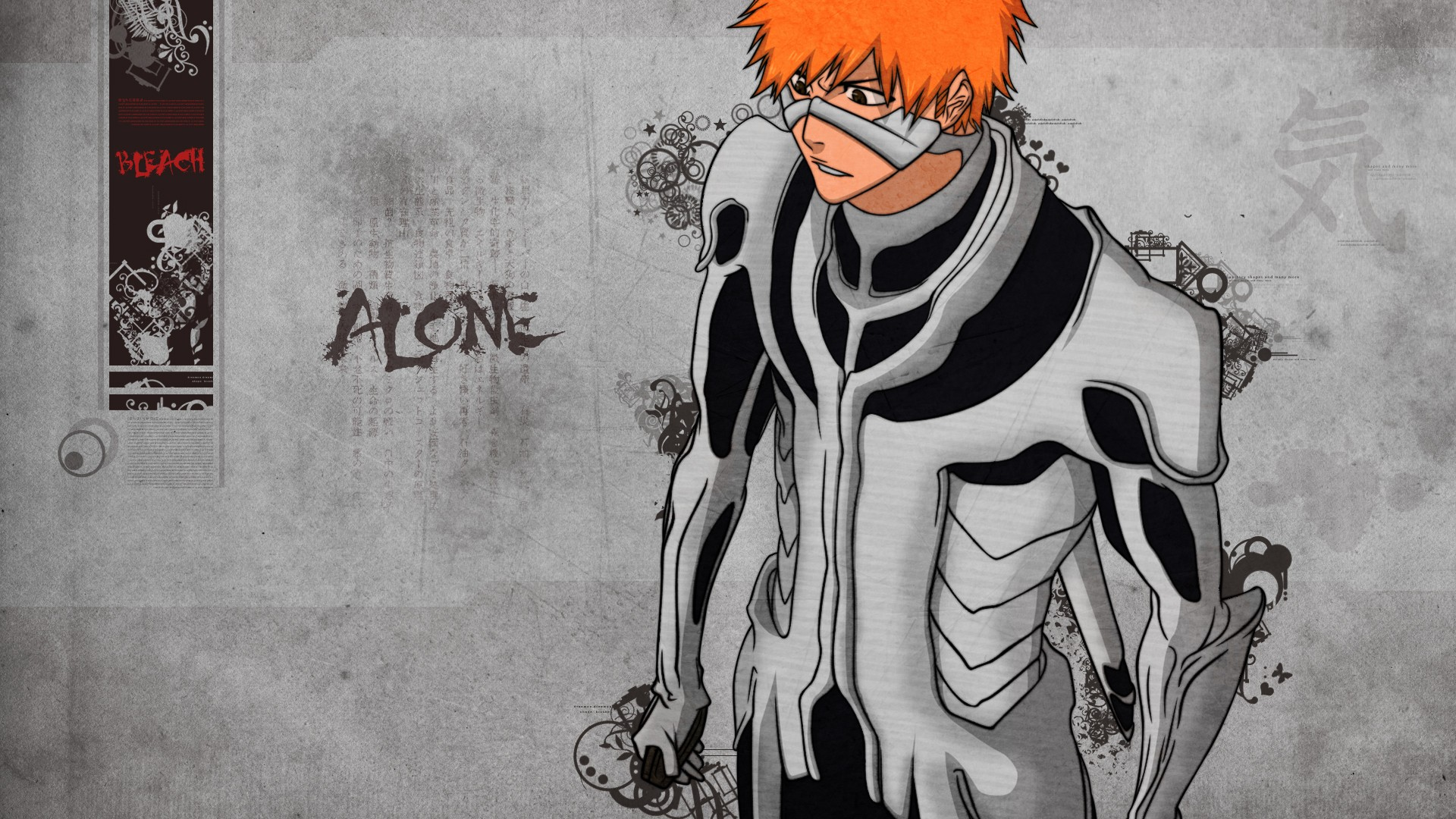 Alone 3d Wallpaper Bleach Kurosaki Ichigo Anime Anime Boys Alone Synceed